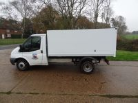 Ford Transit factory body with new sides,doors and rear head-bar