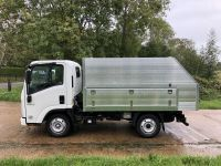 Isuzu N35-125-All Alloy Arboricultural Tipping body.