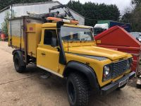 Land Rover Defender Before Arboricultural Tipping conversion
