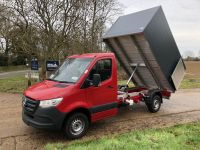 Mercedes Sprinter 3665mm W/B. Enclosed Arboricultural Tipping body