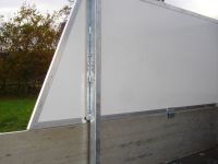 Removable GRP side extension