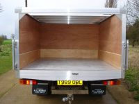 Truck with alloy tool box