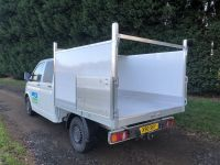 VW Double Cab Arboricultural Tipping Body Conversion.