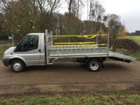 Ford Transit LWD Plant body with Alloy Ramps/Drop Sides