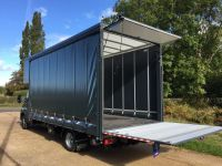 5-0T Iveco Daily Luton Curtain Side with Cantilever Taillift