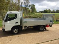 Mitsubishi Fuso Canter. Drop side with Tail-Lift