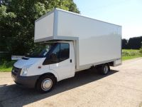 Drop well fitted to Ford Transit LWB