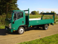 Lightweight Dropside Vehicle Body with Tail Lift