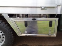 Isuzu D Max Drop side with under body toolbox