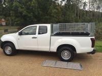 Isuzu D Max Extra cab. Fixed front cage,removable side cages & doors