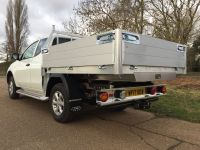 Mitsubishi L200 Extra Cab All Alloy Drop Side Body