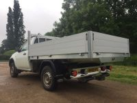 Mitsubishi L200 single cab pick-up.All alloy drop side