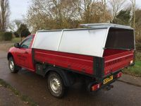 Pick-up conversion Factory Tipper with Cages & rear canopy.
