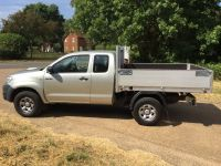 Toyota Hilux Extra cab. Drop side body.