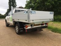 Toyota Hilux Extra cab. All alloy drop side