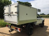 53 plt Toyota Hilux single cab Arboricultural Tipping body