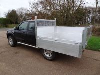 Ford Ranger Extra cab. All Alloy Tipping body with Removable Arb kit