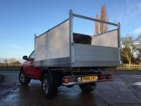 L200 Single cab. Arboricultural Tipping body conversion