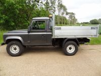 Land Rover 110 All alloy tipping body with removable cages