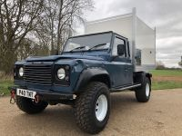Land Rover 110 Arboricultural Tipping body.
