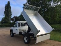 Land Rover Defender 130 All Alloy tipping body