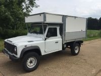Land Rover Defender 130 with full removable Arboricultural kit