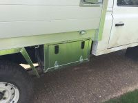 Land Rover 130 Under body alloy toolboxes
