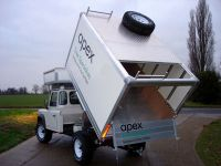 Land Rover Full Arboricultural Tipper Conversion
