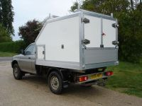 Mitsubishi L200 Chipping Body Conversion