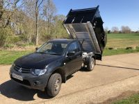 Mitsubishi L200 Single Cab 4x4 Pick-up. Tipping body with Integral Toolbox & Removable Arb Kit