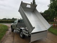 Toyota Hilux single cab. All anodised alloy tipping body