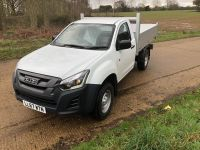 Toyota Hilux 4x4 single cab. All alloy tipping body.