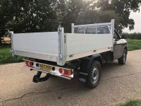 Toyota Hilux 4x4 All Alloy Tipping body.