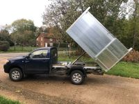 Toyota Hilux Single Cab 4x4. Arboricultural Tipping body.